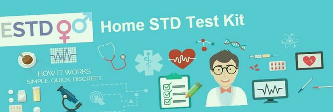 What STI test kits are available?